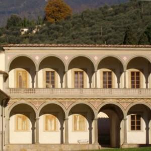 Certosa Calci, Loggiato, PicM